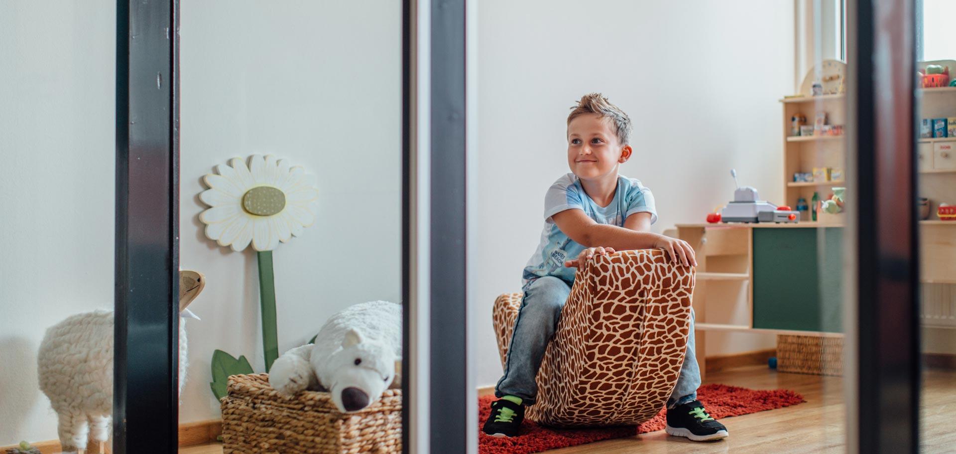 Wartezimmer für Kinder bei Zahnärztin Meister